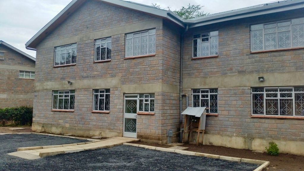 Staff housing units - completed in March 2018!